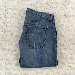 Old Navy | Raw Hem Boyfriend Jeans